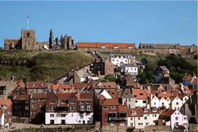 View of Whitby Abbey