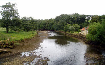 River Esk at Ruswarp